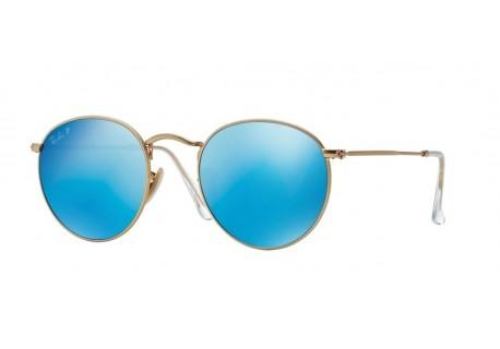 Okulary przeciwsłoneczne Ray-Ban RB3447 112/4L ROUND METAL