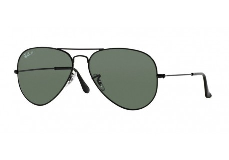 Okulary przeciwsłoneczne Ray-Ban RB3025 002/58 AVIATOR LARGE METAL