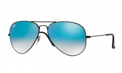 RAY-BAN RB3025 002/4O AVIATOR LARGE METAL