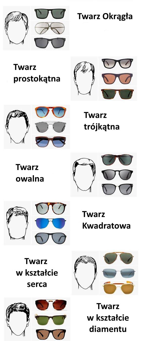 Jakie Dobrać Okulary Do Twarzy